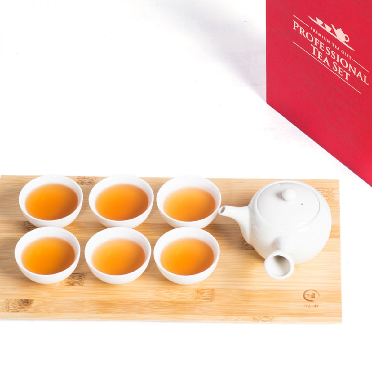 Gift set with superior porcelain tea sets