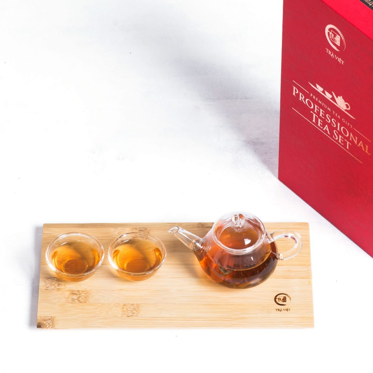 gift sets with couple glass tea sets