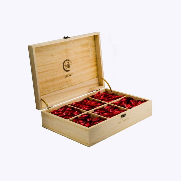 Wooden Convenience Tea Gift Sets 6