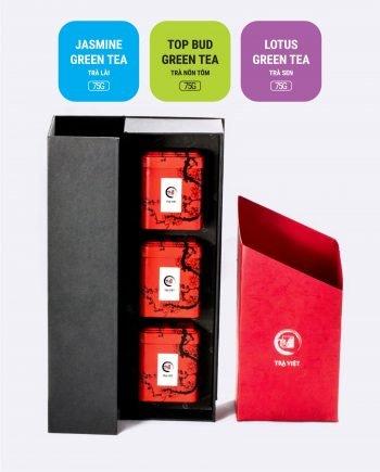 Lotus Jasmine Top Bud Tea Tin Gift 3