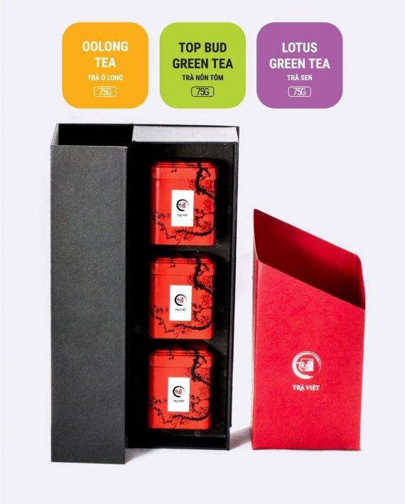 Lotus Oolong Top Bud Tea Tin Gift 3