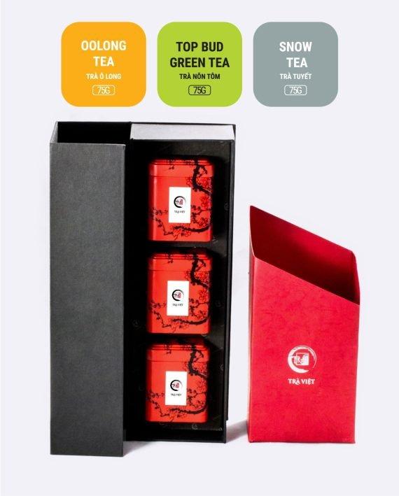 Oolong Top Bud Snow Tea Tin Gift 3