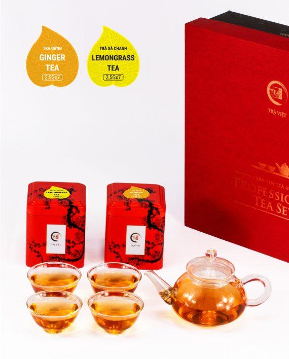 Ginger Lemongrass Tea Standard Glass Plus
