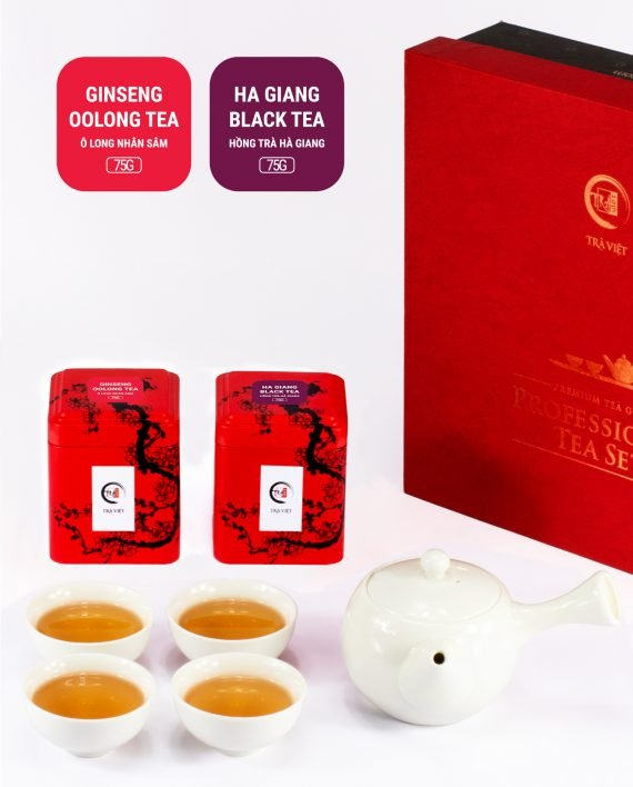 Ginseng Oolong Black Tea Standard Porcelain Plus