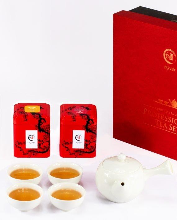 Oolong – Hibiscus Tea Standard Porcelain Plus