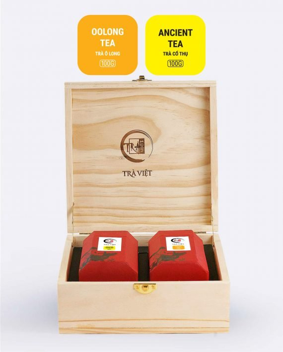 Oolong Ancient Tea Wooden Classic Gift