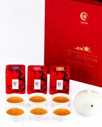 Pandan Ginseng – Black – Ginseng Oolong Tea Superior Porcelain Plus