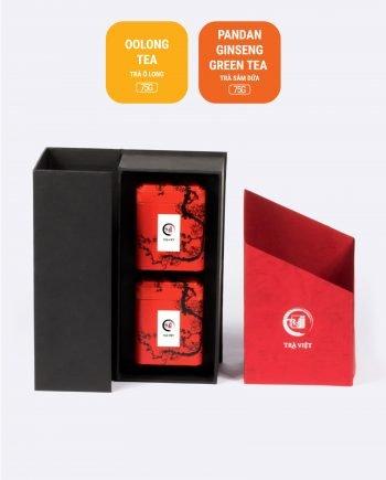 Pandan Ginseng Oolong Tea Tin Gift 2