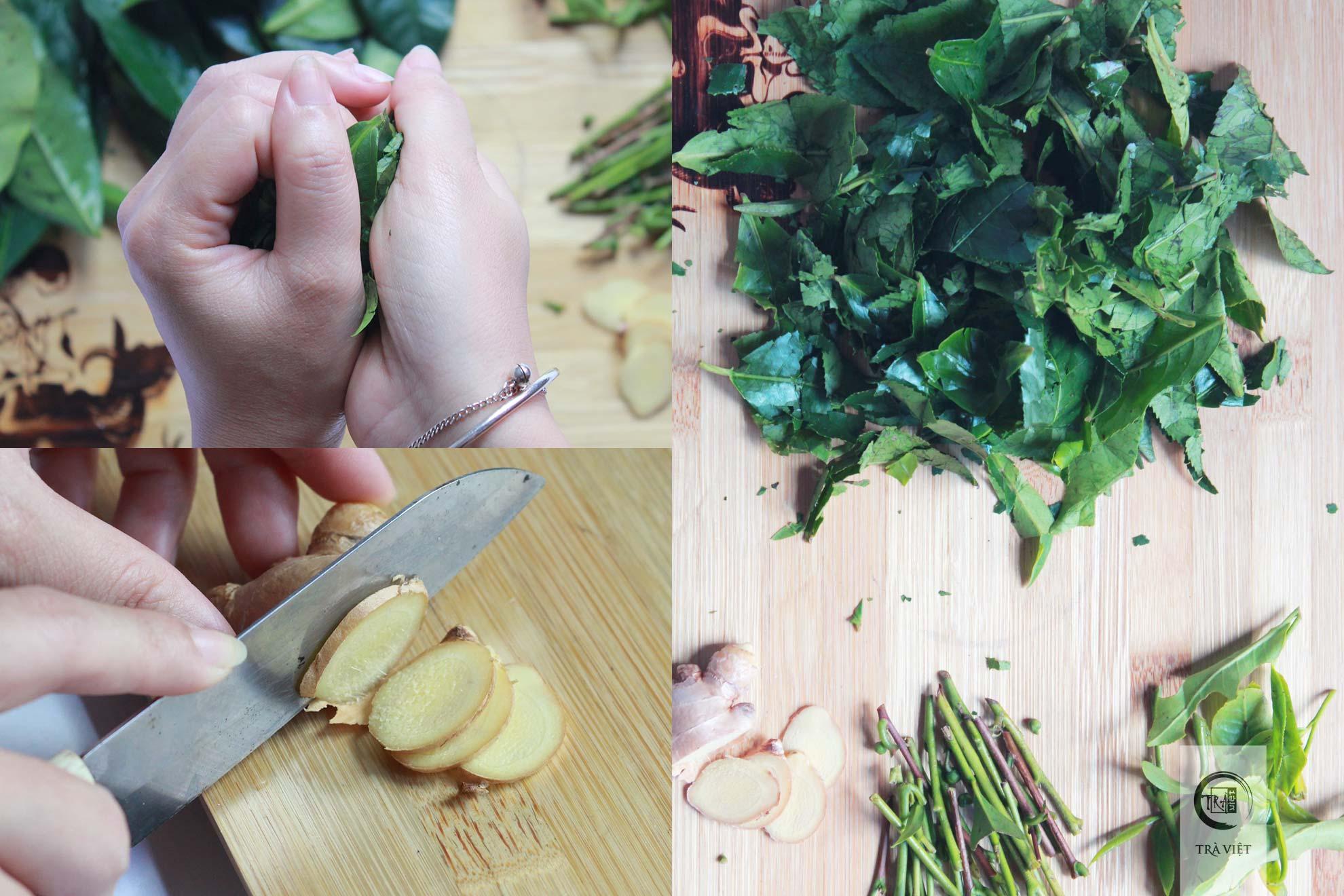 Cách nấu trà xanh - xử lý lá trà