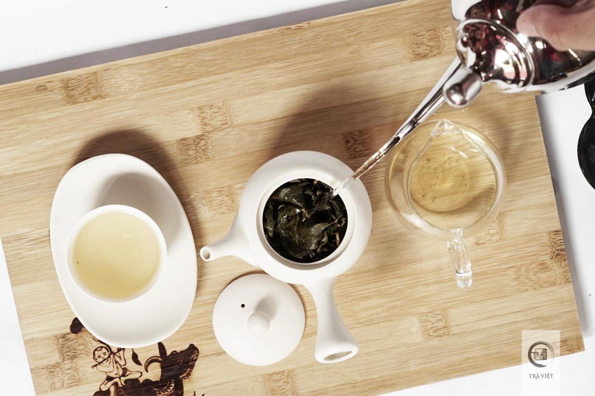 Cách pha trà Ô Long - hãm trà lần tiếp theo