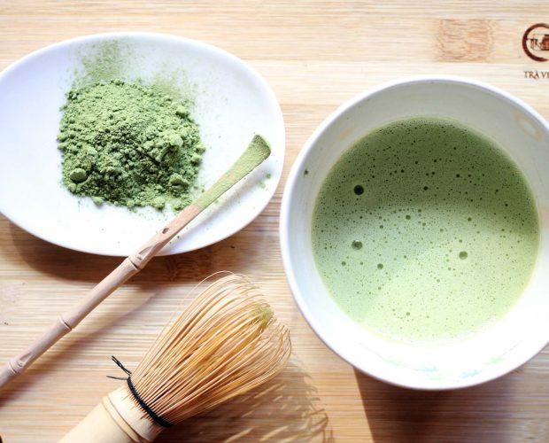 Bột trà xanh Matcha Nhật Bản dùng trong trà đạo