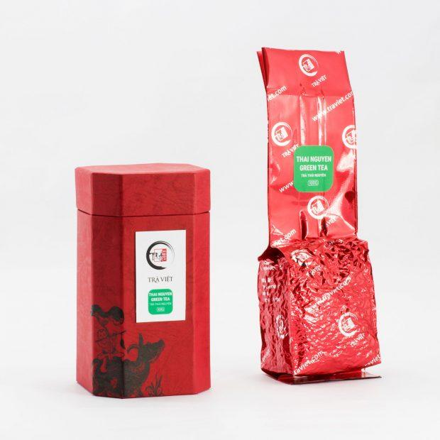 Hộp bát giác trà Thái Nguyên