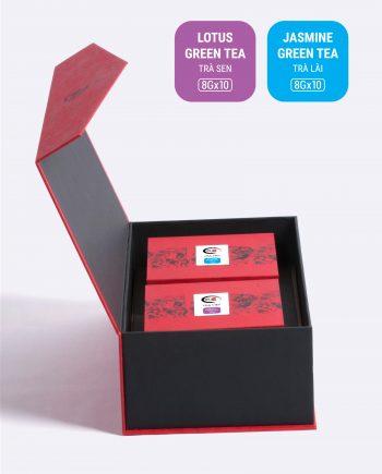 Hộp An Khang trà sen, trà lài
