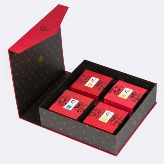 Xu hướng quà tết 2021 - hộp trà thịnh vượng